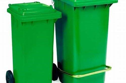 فروش سطل زباله پلاستیکی 240 لیتری