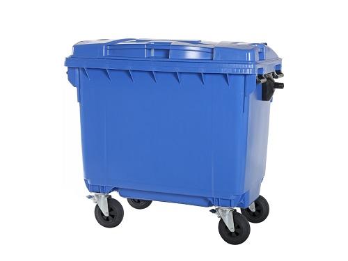 سطل زباله پلاستیکی مکانیزه ارزان