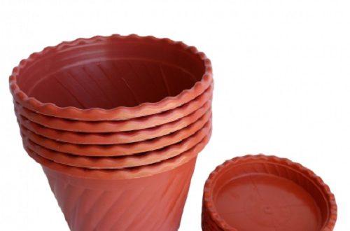 بهترین گلدان پلاستیکی ارزان