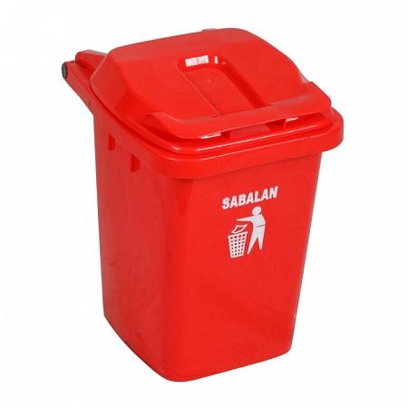 سطل زباله پلاستیکی سبلان ارزان