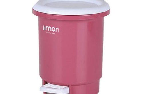 سطل زباله پلاستیکی لیمون