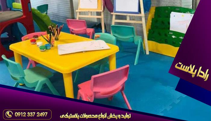 میز و صندلی پلاستیکی ناصر